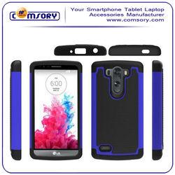 2 in 1 Soccer Skin Combo Hybrid Phone Case Cover For LG G3 mini