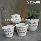 garden clay pot decoration