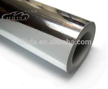 silver chrome shrink wrap