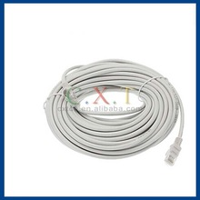 50 ft Grey Cat5e Cat 5 Ethernet Network Cable RJ45