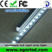 cool white SMD5050 84leds rigid bar display cabinets led lighting