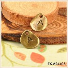 Fashion Jewelry Wholesale Charm Irregular Alphabet Of A Metal Pendant Jewelry Wholesale Charm