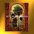 pinturas abstractas de flores pinturas al óleo moderna de los árboles para el hogar productos de arte de la pared