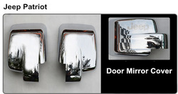 MJ124 A Car front mirror cover side door mirror covers for Jeep Patriot 11-14 auto accessories, Chrome accessories