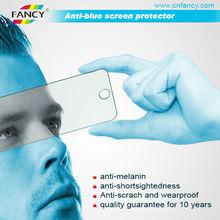 hot ! premium color material 3H anti-blue screen protector for phone
