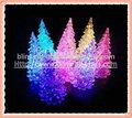 mudança de cor led de natal da árvore de plástico