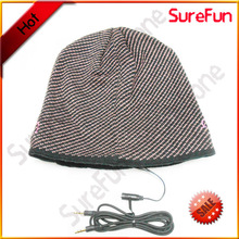 winter knitting audio earmuff headphone with your own brand name