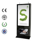 High Brightness Outdoor Freestanding Double-sided Digital Signage