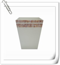 hotel accessories luxury seashell color codes for waste bins