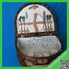 Wholesale wicker baskets,large wicker baskets,wicker picnic basket set