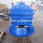 Ductile iron GGG50 Non rising stem rubber wedge gate valve