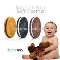 الغذاء الصف bpa مجانا سيليكون الطفل عضاضة للأسنان الطفل الأول البسكويت