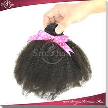 Cheap 100% Virgin Brazilian hair afro kinky braiding hair wholesale afro kinky bulk human hair