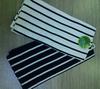 white or black stripe kitchen towel set A and B edition towel set