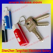 2014 new wholesale plastic custom key chain samples