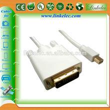 6ft MINI DP TO DVI F Mini DP to DVI Female Cable/Adapter