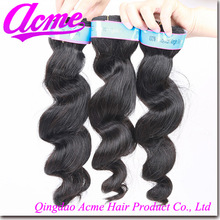 indian loose wave no knots ,no shedding wholesale remy hair