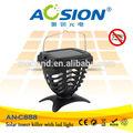 Avanzada con energía Solar de fly catcher con UV de la lámpara para el uso que acampa