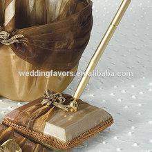 Elegant Bronze Designer Pen Base