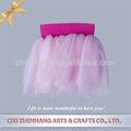 Tutu vestido mini-saia rosa caveira tutu vestido de formatura atacado meninas tule plissado menina vestido tutu