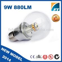 aluminum alloy lamp body material 360 degree led bulb with light bulb adapter dimmer