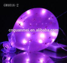Purple Glass Small illuminated small balloon