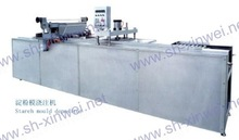 Automatic jelly/gummy candy starch moulding machine