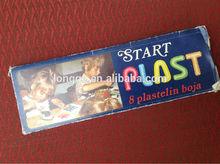 Vintage Perfectly Preserved Children's Plasticine Start Plast 8 Colors