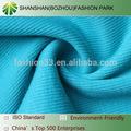 Shanshan 1*1 de punto de poliéster/tela de algodón costilla, tc tela de costal