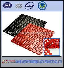 rubber anti-slip shower mat