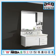 corner hanging cheap stainless steel bathroom vanity cabinet