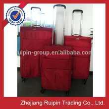 EVA red ultra lightweight wine trolley case