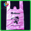 Yiwu hdpe custom wholesale biodegradable plastic t-shirt shopping bags