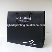 large paper shopping bag&laminated paper bag&custom printed paper bag