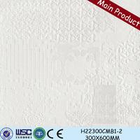 Foshan factory price of 300x600 space decorative rustic ceramic tile display