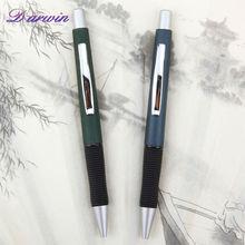 Custom push action ballpoint plastic pens for promotion