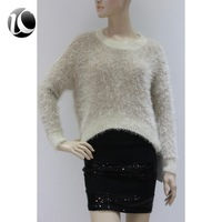 LAST CHARM top fashion 100% angora sweater