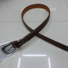 2014new product women sexy fashional PU Man's Leather Belt ,Gun Metal Black Nickle buckle