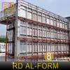 RD Aluminum Alloy Concrete Column Forms sell to New Zealand