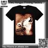 Yiwu Printing Factory 100% cotton wolf bangkok fashion t-shirts wholesale