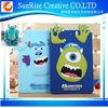 Cartoon Monster University Silicon phone case For iPad 2/3/4, For ipad Monster University silicon case