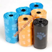 100% compostable printed dog poop bag