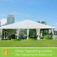 Waterproof and fire retardant tents for outdoor activities