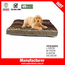 2014 new pet products inddoor and outdoor pattern beds for dogs