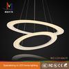 acrylic led design ring lamp