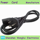 Goose head plug blossom tail flat iron power cord