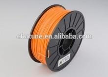 Safety Orange ABS 3mm Filament, 1kg Reel For 3D Printer