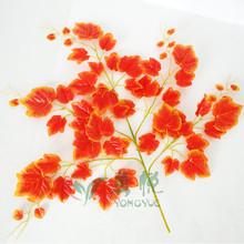 artificial plants red grape leaf