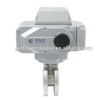Ultra Short Face-to-Face Dimension motorized ball valve