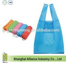 Fashion color Foldable Shopping Tote Bag